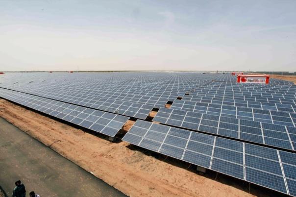 Charanka Solar Park View