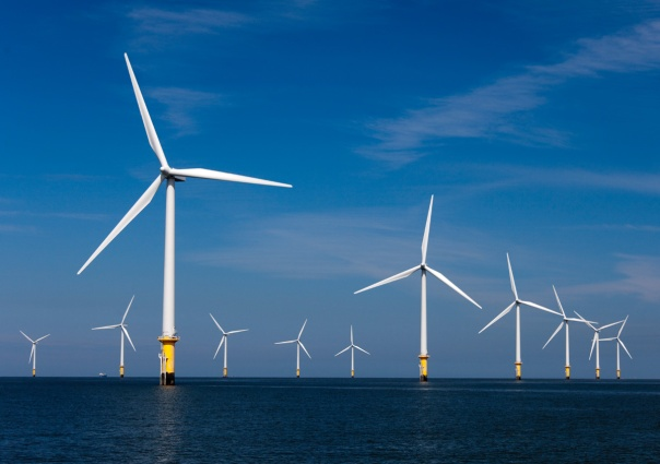 Offshorewindpark Burbo Bank
