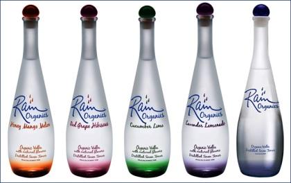 rain-vodka flavours
