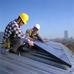 Solar-panel installer