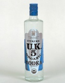uk5 organic vodka