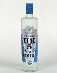 uk5 organic vodka