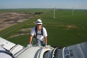 Wind-turbine mechanic